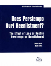 Does Perstempo Hurt Reenlistment? av James Hosek og Mark Totten (Heftet)