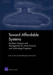 Toward Affordable Systems av Brian G Chow, Scott Hiromoto og Richard Silberglitt (Heftet)