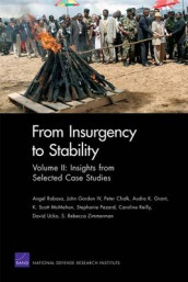 From Insurgency to Stability: Insights from Selected Case Studies v. 2 av Peter Chalk, John Gordon, Audra K. Grant, Scott K. McMahon, Stephanie Pezard, Angel Rabasa, Caroline Reilly, David Ucko og Rebecca Zimmerman (Heftet)
