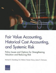 Fair Value Accounting, Historical Cost Accounting, and Systemic Risk av Michael D. Greenberg, Eric Helland, Noreen Clancy og James N. Dertouzos (Heftet)