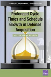 Prolonged Cycle Times and Schedule Growth in Defense Acquisition av Jessie Riposo (Heftet)
