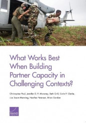 What Works Best When Building Partner Capacity in Challenging Contexts? av Colin P. Clarke, Brian Gordon, Beth Grill, Jennifer D. P. Moroney, Christopher Paul, Heather Peterson og Lisa Saum-Manning (Heftet)