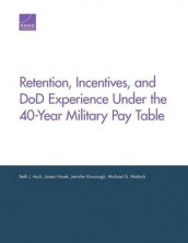 Retention, Incentives, and DOD Experience Under the 40-Year Military Pay Table av Beth J. Asch, James Hosek, Jennifer Kavanagh og Michael G. Mattock (Heftet)