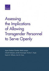 Omslag - Assessing the Implications of Allowing Transgender Personnel to Serve Openly