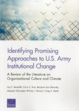 Omslag - Identifying Promising Approaches to U.S. Army Institutional Change