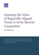 Omslag - Assessing the Value of Regionally Aligned Forces in Army Security Cooperation