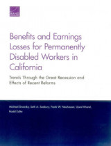 Omslag - Benefits and Earnings Losses for Permanently Disabled Workers in California