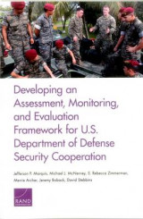 Omslag - Developing an Assessment, Monitoring, and Evaluation Framework for U.S. Department of Defense Security Cooperation