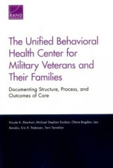 Omslag - The Unified Behavioral Health Center for Military Veterans and Their Families