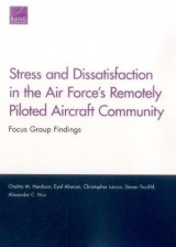 Omslag - Stress and Dissatisfaction in the Air Force's Remotely Piloted Aircraft Community