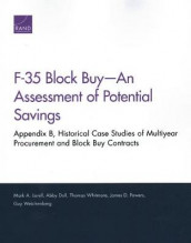 F-35 Block Buy--An Assessment of Potential Savings av Abby Doll, Mark A Lorell, James D Powers, Guy Weichenberg og Thomas Whitmore (Heftet)