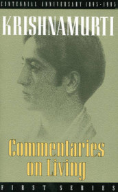 Commentaries on Living av J. Krishnamurti (Heftet)