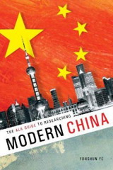 Omslag - The ALA Guide to Researching Modern China