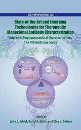 Omslag - State-of-the-Art and Emerging Technologies for Therapeutic Monoclonal Antibody Characterization: Biopharmaceutical Characterization Volume 2