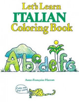 Omslag - COLORING BOOKS: LETS LEARN ITALIAN COLORING BOOK
