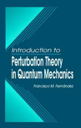Omslag - Introduction to Perturbation Theory in Quantum Mechanics