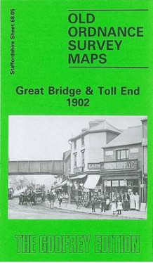 Great Bridge and Toll End 1902 av Robin Pearson (Kart, falset)