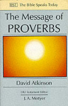 The Message of Proverbs av D. Atkinson (Heftet)