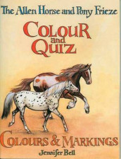 The Allen Horse and Pony Frieze, Colour and Quiz: Colour and Markings av Jennifer Bell (Heftet)