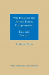 Omslag - War Pensions and Armed Forces Compensation