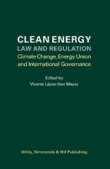 Omslag - Clean Energy Law and Regulation