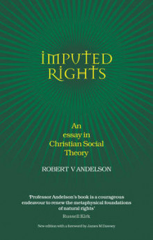Imputed Rights av Robert V. Andelson (Innbundet)