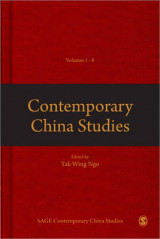Omslag - Contemporary China Studies