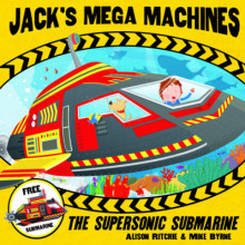 Jack's Mega Machines: Supersonic Submarine av Alison Ritchie (Heftet)
