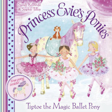 Princess Evie's Ponies: Tiptoe the Magic Ballet Pony av Sarah KilBride (Heftet)
