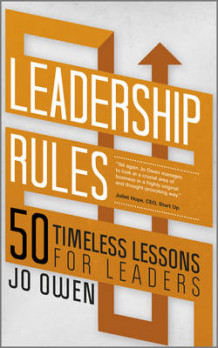 Leadership Rules av Jo Owen (Heftet)