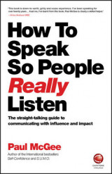 Omslag - How to Speak So People Really Listen