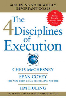 4 Disciplines of Execution av Sean Covey (Heftet)
