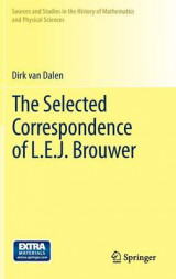 Omslag - The Selected Correspondence of L.E.J. Brouwer