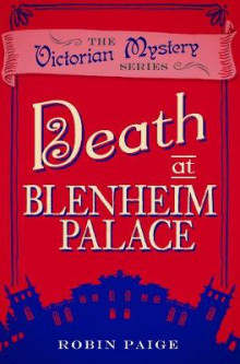Death At Blenheim Palace av Robin Paige (Heftet)
