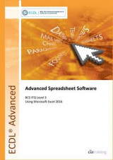 Omslag - ECDL Advanced Spreadsheet Software Using Excel 2016 (BCS ITQ Level 3)