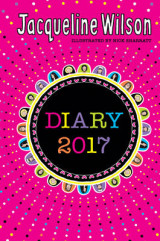 Omslag - The Jacqueline Wilson Diary 2017