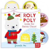 Omslag - Tiny Tabs: Roly Poly Looks for Santa Claus