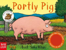 Sound Button Stories: Portly Pig av Axel Scheffler (Pappbok)