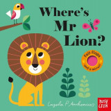 Omslag - Where's Mr Lion?