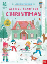 Omslag - National Trust: Getting Ready for Christmas, A Sticker Storybook