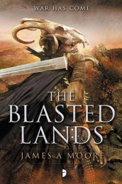 The Blasted Lands av James A. Moore (Heftet)