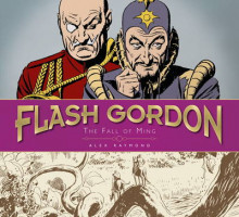 The Complete Flash Gordon Library - The Fall of Ming (Vol 3) av Alex Raymond og Don Moore (Innbundet)