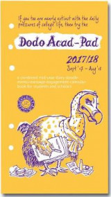 Omslag - Dodo ACAD-PAD 2017-2018 Filofax-Compatible Personal Organiser Diary Refill Mid Year / Academic Year, Week to View