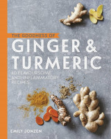Omslag - The goodness of ginger & turmeric