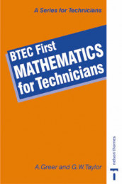 BTEC First - Mathematics for Technicians av Alex Greer og Graham William Taylor (Heftet)