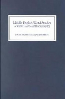 Middle English Word Studies: A Word and Author Index av Louise Sylvester og Jane Roberts (Innbundet)