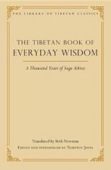 Omslag - The Tibetan Book of Everyday Wisdom