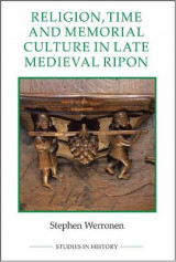 Omslag - Religion, Time and Memorial Culture in Late Medieval Ripon