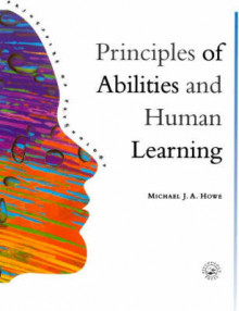 Principles of Abilities and Human Learning av Michael J. A. Howe (Heftet)