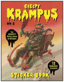 Creepy Krampus Sticker Book: No. 2 av Monte Beauchamp (Heftet)